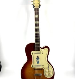 Vintage Silvertone 1382L Jimmy Reed Thin Twin Electric Guitar