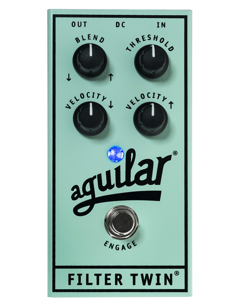 Aguilar Aguilar Filter Twin Dual Evelope Filter Pedal
