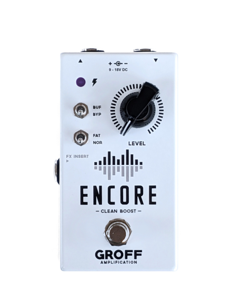 Groff Amplification Groff Amplification Encore Clean Boost