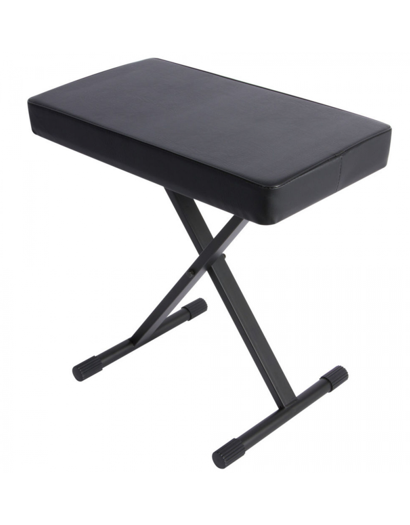 On Stage KT7800+Deluxe X-Style Keyboard Bench