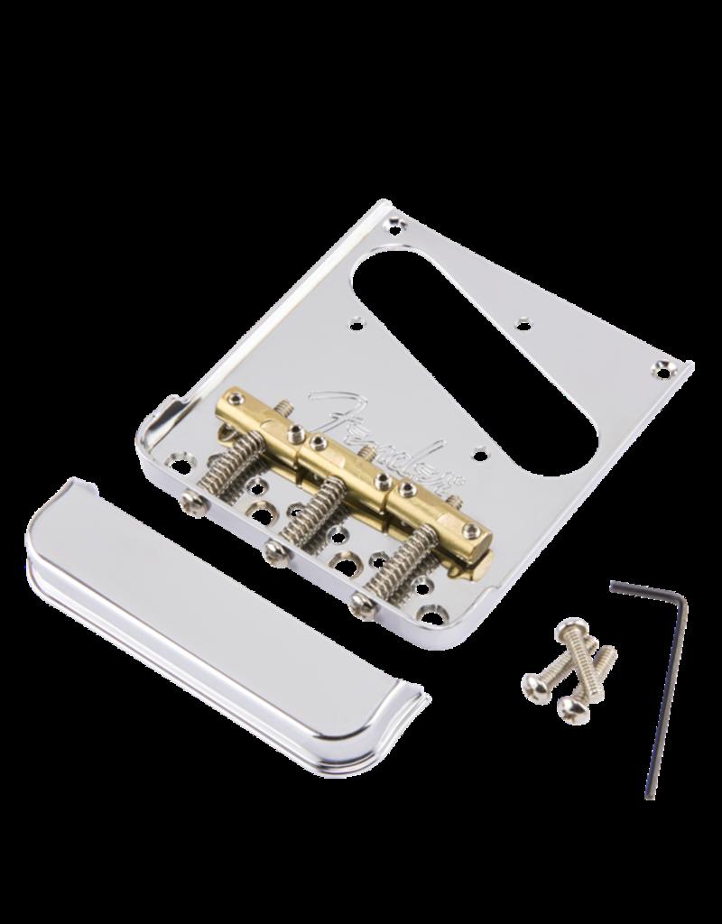 Fender Fender 3-Saddle American Pro Telecaster Bridge Assembly (Chrome)