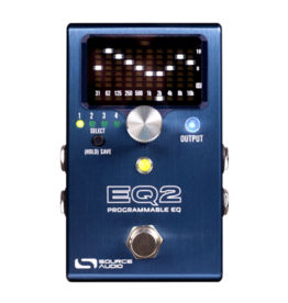 Source Audio Source Audio EQ2 Programmable Equalizer Pedal
