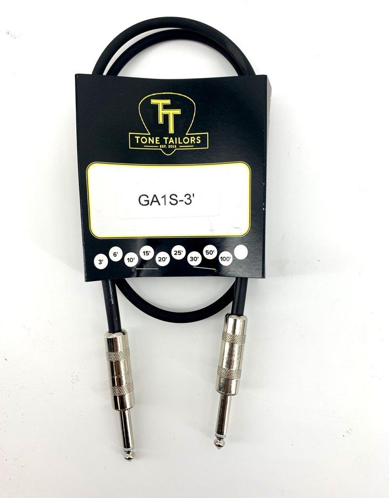 Tone Tailors GA1S-3 Premium Instrument Cable 3 ft