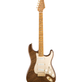 Fender Custom Shop Fender Custom Shop Claro Walnut Artisan Stratocaster, 1-Piece Roasted Maple Neck