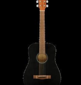 Fender Fender FA-15 3/4 Scale Steel with Gig Bag, Walnut Fingerboard, Black
