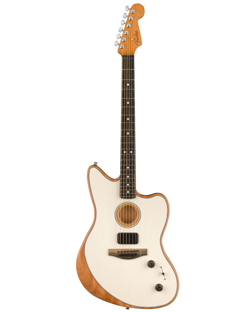 Fender Fender American Acoustasonic® Jazzmaster®, Arctic White