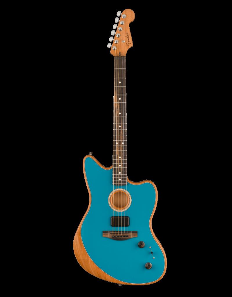 Fender Fender  American Acoustasonic® Jazzmaster®, Ocean Turquoise