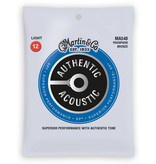 Martin Martin MA540 Phosphor Bronze Light Authentic Acoustic Guitar Strings .012-.054