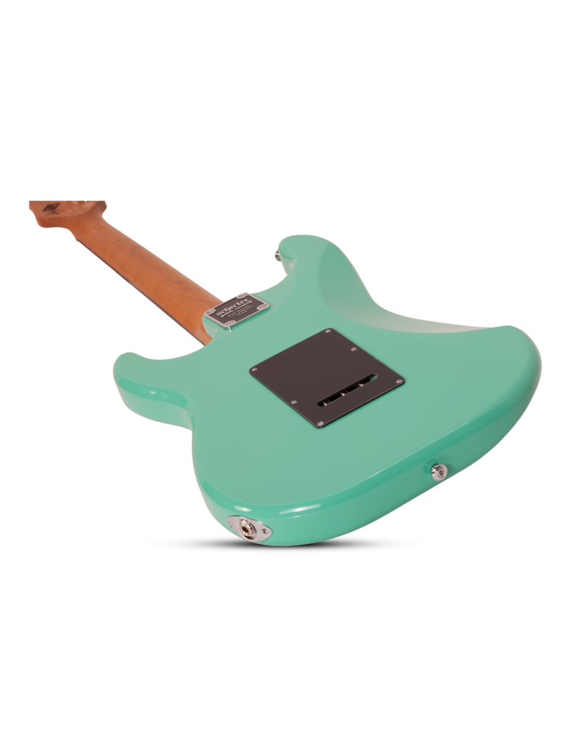 Schecter Nick Johnston Traditional H/S/S Atomic Green