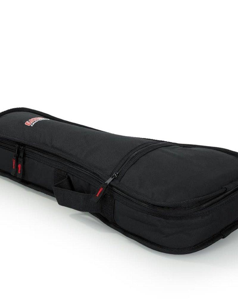 Gator Gator GBE-UKE-SOP Soprano Ukulele Gig Bag With Fixed Backpack Straps