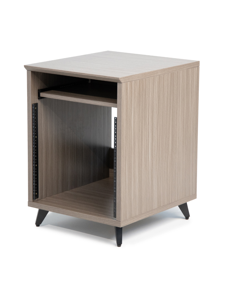 Gator Gator Elite Series Furniture Desk 12U Rack - GRY