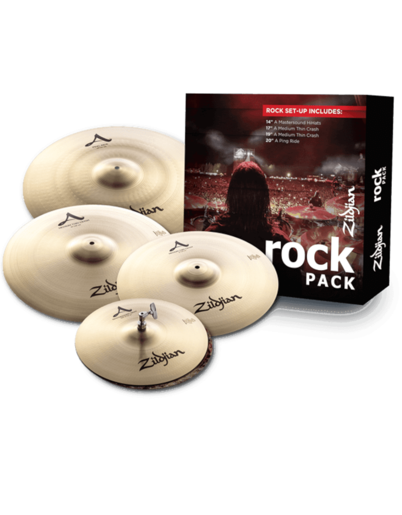 Zildjian Zildjian A Rock Cymbal Pack