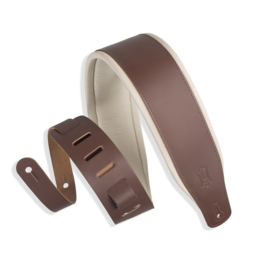 Levy's Leathers Levy's Padded Two-Tone Leather Brown, Cream 3