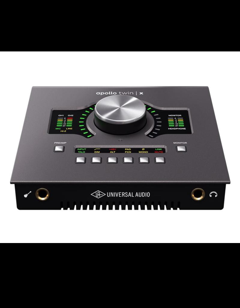 Universal Audio Apollo Twin X w/ DUO Processing Interface