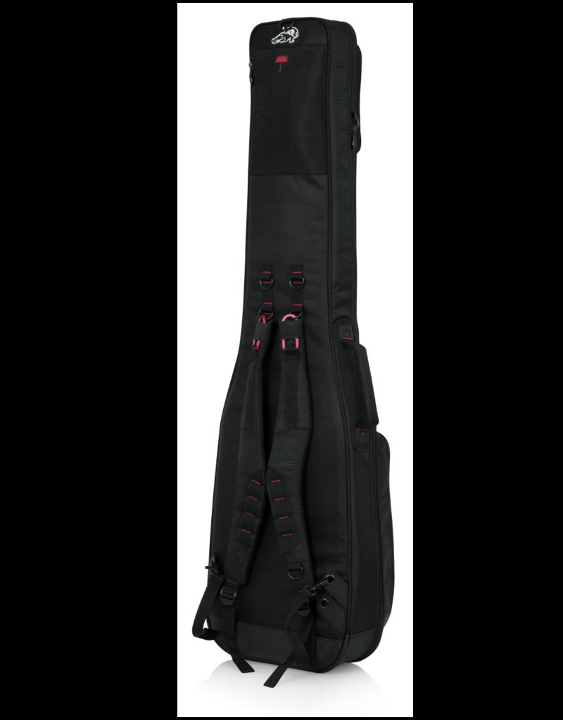 Gator Gator Cases Pro-Go Ultimate Guitar Gig Bag, Fits Electric Bass Guitars (G-PG BASS)