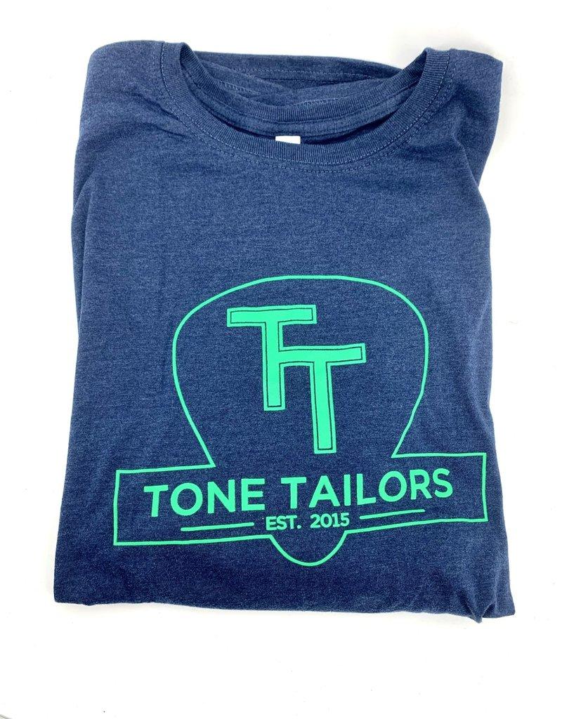 Tone Tailors Shirt Indigo/Green Medium