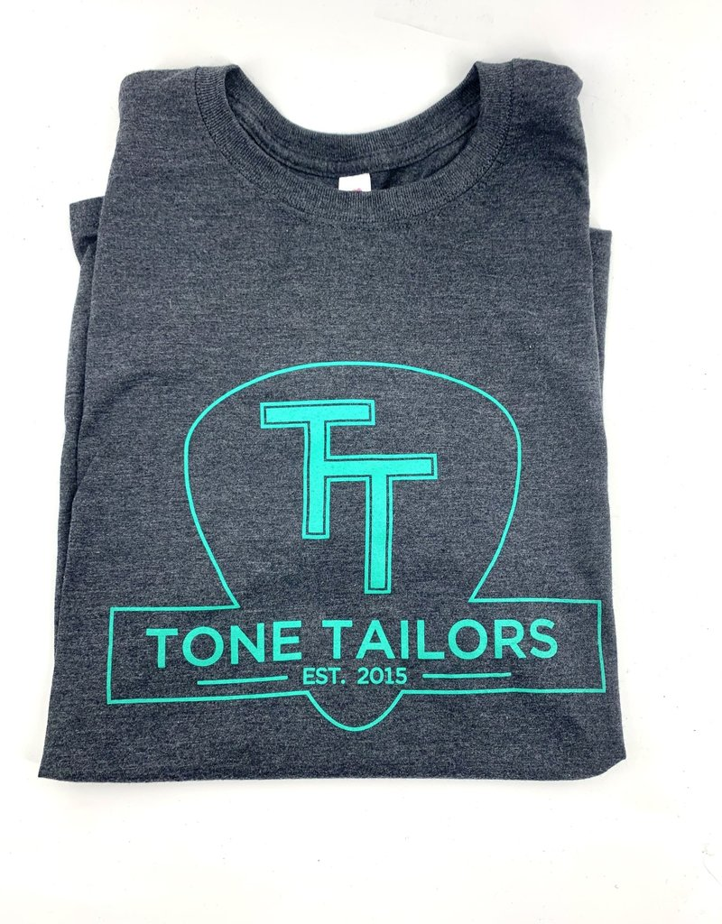 Tone Tailors Shirt Black/Teal Small