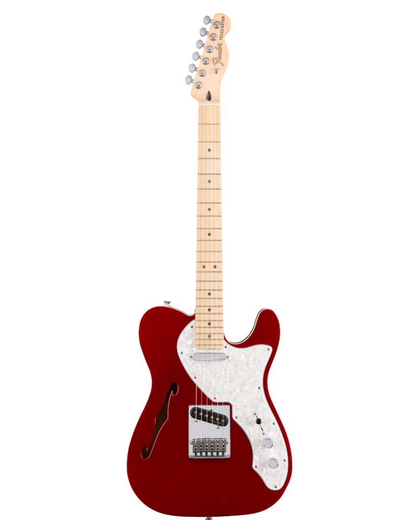 Fender Fender Deluxe Telecaster® Thinline, Maple Fingerboard, Candy Apple Red