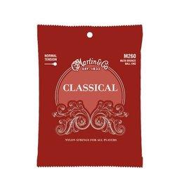 Martin Martin M260 80/20 Bronze Ball End Normal Tension Classical Guitar Strings