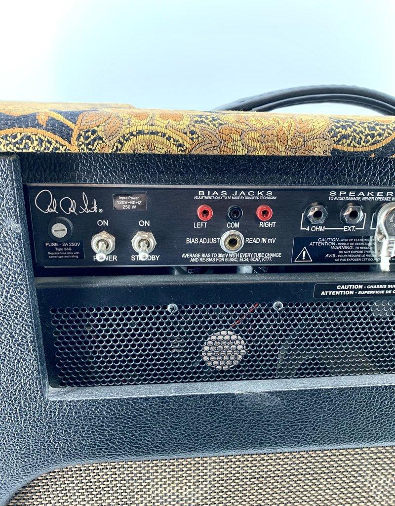 "PRS Used PRS Dallas 50 2x12"" Guitar Combo Amp, Paisley"