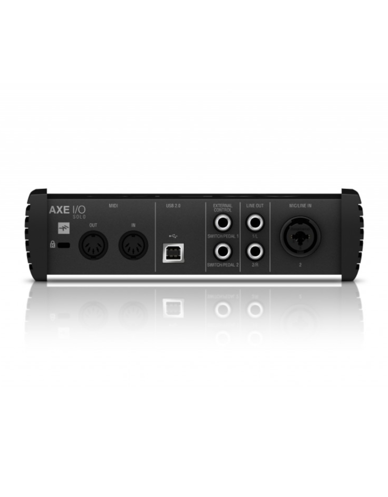 Ik Multimedia Axe I/O Solo Compact 2-In/3-Out Audio Interface