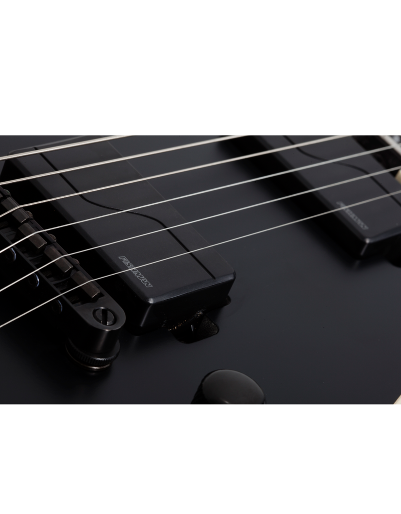 Schecter V-1 SLS Evil Twin Satin Black