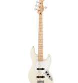 Squier Squier Affinity Series Jazz Bass® V, Maple Fingerboard, White Pickguard, Olympic White
