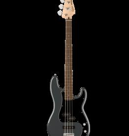 Squier Squier Affinity Series Precision Bass PJ, Laurel Fingerboard, Black Pickguard, Charcoal Frost Metallic