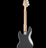 Squier Squier Affinity Series™ Jazz Bass, Laurel Fingerboard, Black Pickguard, Charcoal Frost Metallic