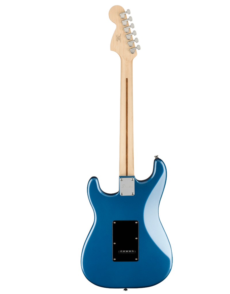 Squier Squier Affinity Series Stratocaster, Maple Fingerboard, Black Pickguard, Lake Placid Blue