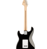 Squier Squier Affinity Series Stratocaster, Maple Fingerboard, White Pickguard, Black