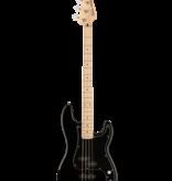 Squier Squier Affinity Series Precision Bass PJ, Maple Fingerboard, Black Pickguard, Black