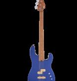 Charvel Charvel Pro-Mod San Dimas Bass PJ IV, Caramelized Maple Fingerboard, Mystic Blue