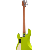 Charvel Charvel Pro-Mod San Dimas Bass PJ IV, Caramelized Maple Fingerboard, Lime Green Metallic