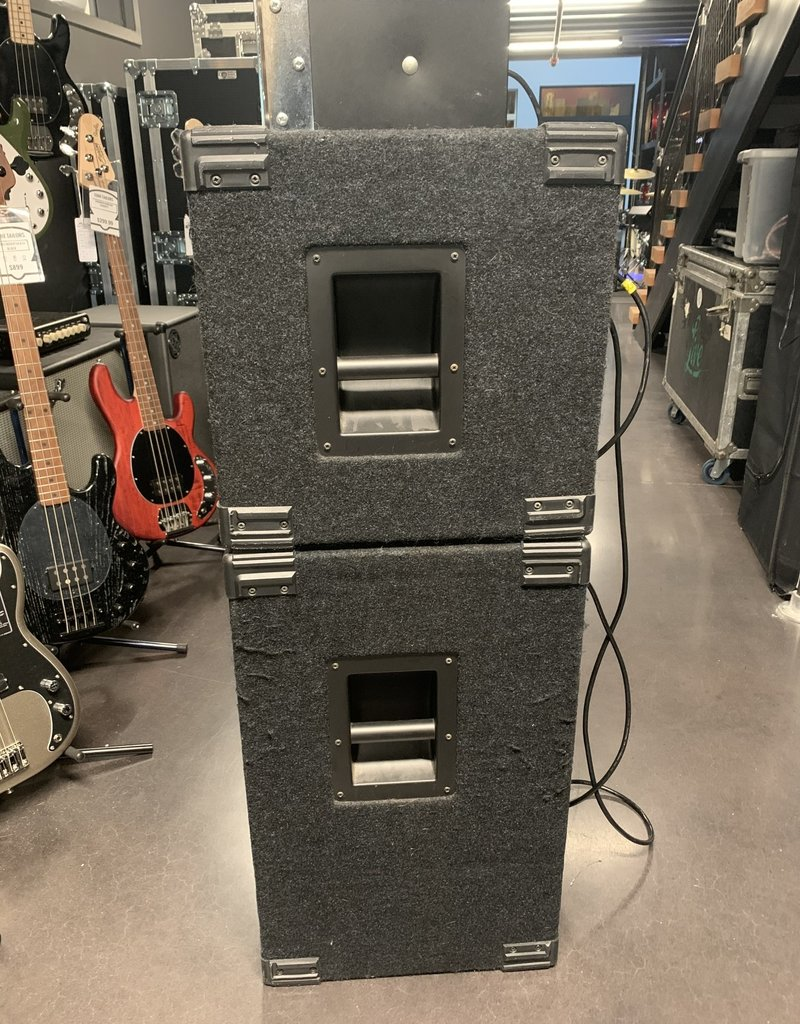 EBS Used EBS Fafner TD600 Bass Head w/ Evolution Proline 2000 2x10 and 4x10 Cabinets, Bass Full Stack
