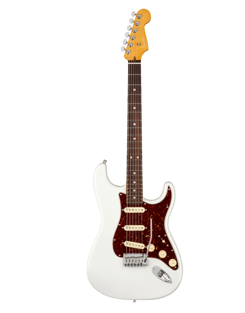 Fender Scratch and Dent Fender American Ultra Stratocaster, Rosewood Fingerboard, Arctic Pearl Electric Guitar