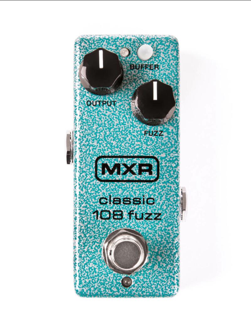 MXR MXR® M296 Classic 108 Fuzz Mini Pedal