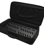 Gator Gator GPBBAK1 - Black Aluminum Pedal Board; Large w/ Carry Bag