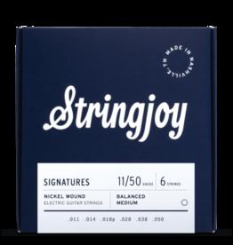 Stringjoy Stringjoy Signatures | Balanced Medium Gauge (11-50) Nickel Wound Electric Guitar Strings