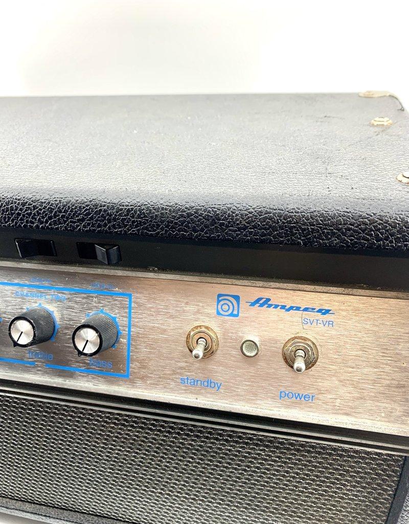 Used Ampeg SVTVR 300 Watt Bass amp head