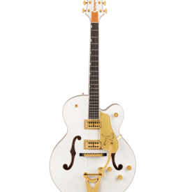 Gretsch Gretsch G6136TG Players Edition Falcon™ Hollow Body with String-Thru Bigsby® White