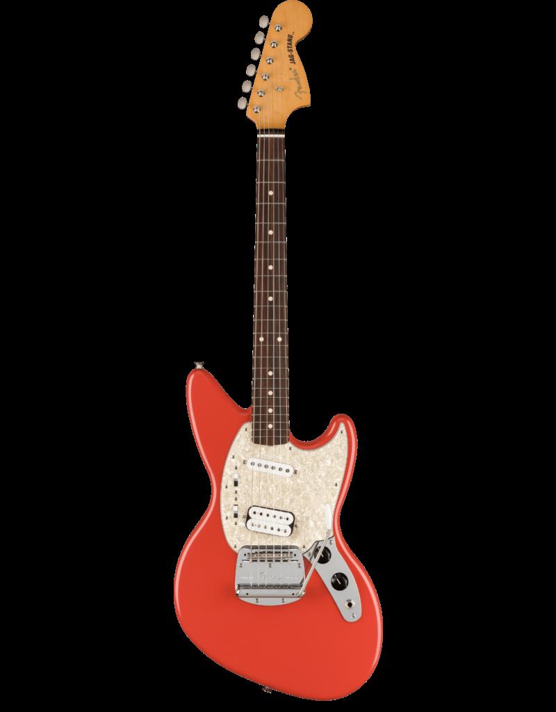 Fender Fender Kurt Cobain Jag-Stang®, Rosewood Fingerboard, Fiesta Red