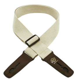 Lock-it Lock-It Straps classic cotton series Natural/ Brown