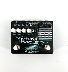 Electro-Harmonix Used Electro-Harmonix Oceans 12 Dual Stereo Reverb Pedal