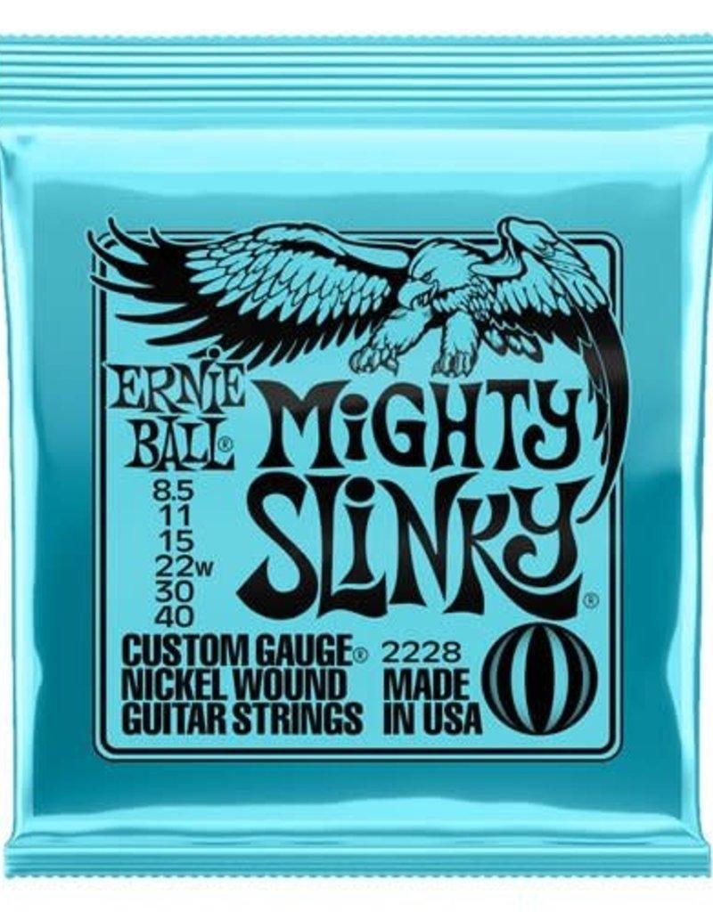 Ernie Ball Ernie Ball 2228 Mighty Slinky Electric Guitar Strings  8.5-40