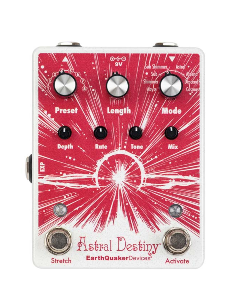 EarthQuaker Devices Earthquaker Devices Astral Destiny Octave Reverberation Pedal