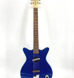 Used Danelectro Convertible Blue Sparkle