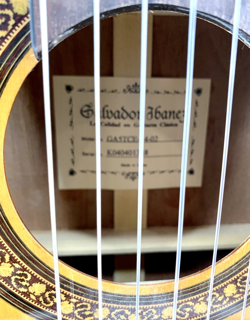 Used Ibanez GA5TCE Thinline Nylon String Acoustic Electric Guitar