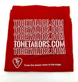 Tone Tailors WWW red/white shirt Large
