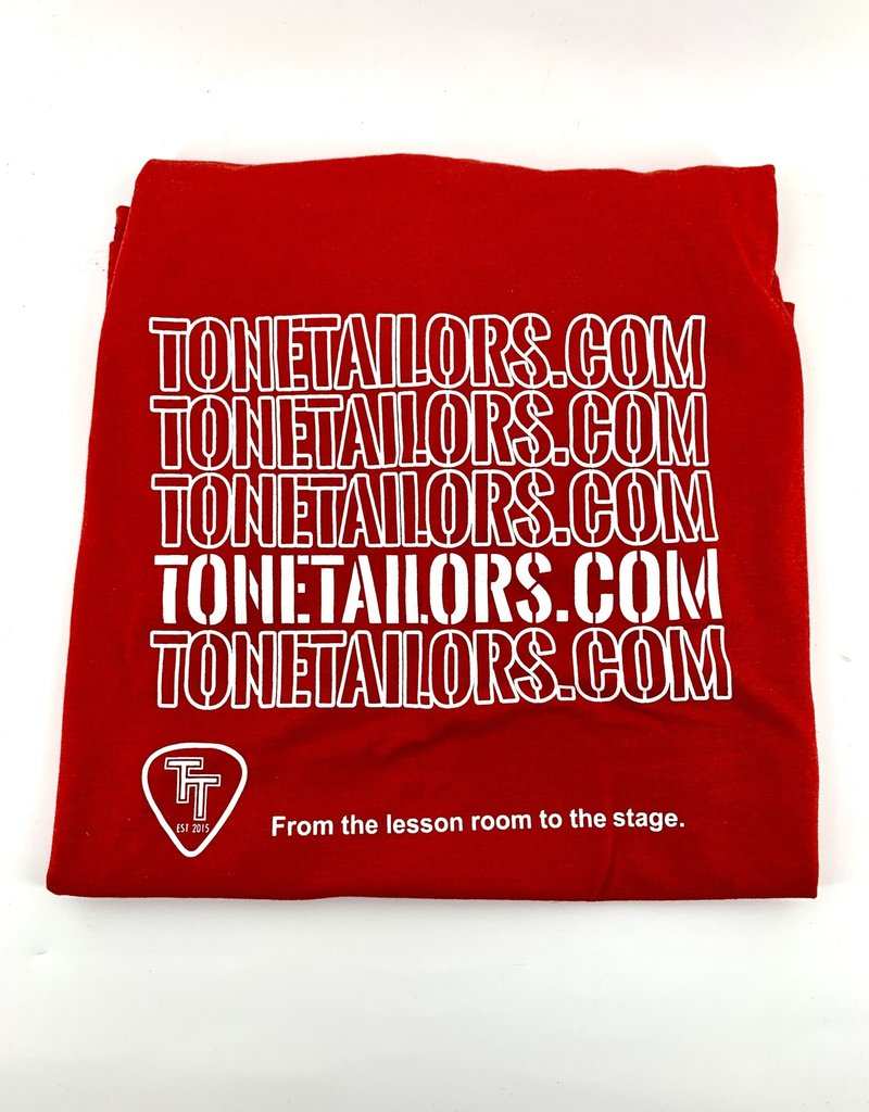 Tone Tailors WWW red/white shirt Small